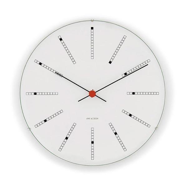 Jacobsen Bankers Wall Clockローゼンダール アルネ・ヤコブセン バンカーズクロック 21cm