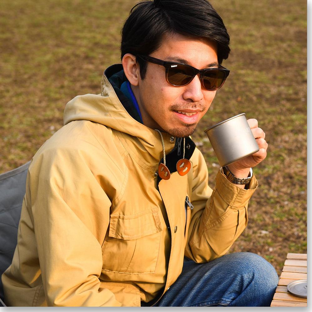 【送料無料】アウトドア誌「GARVY」コラボサングラスアウトドアが120%楽しくなるアウトドア専用サングラスウェリントン型ファッションフレームブラウン高屈折薄型偏光レンズ紫外線99.9%カット