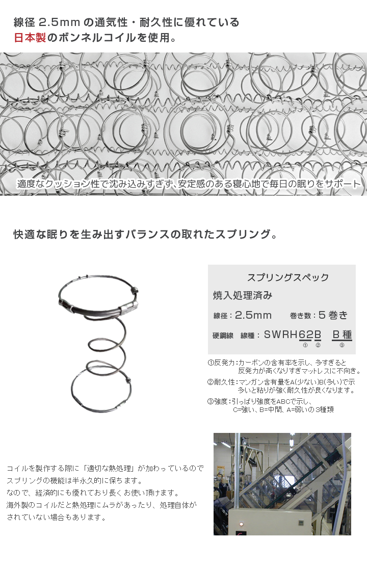 ★ (mattoresu Japan domestic spring mattresses double) 02P19Dec15 / mattress bonnel coils/double (140 cm in width)