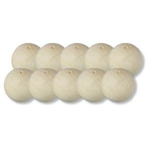 木制球 (水木) 18 (直径) 10P19Dec15 毫米/21 (直径) 毫米 1 设置 (10 件)