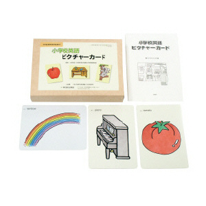 小学校英語ピクチャーカード  1セット(100枚)