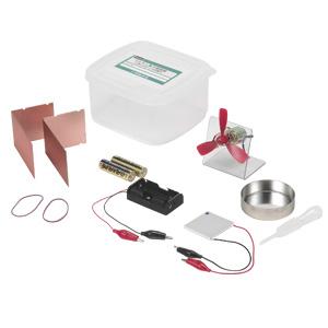 ペルチェ素子実験器 お湯と氷水による発電型532P17Sep16