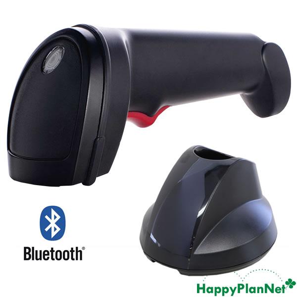 ワイヤレス 2次元バーコードリーダー IG610BT 黒 【1年保証】 Bluetooth通信充電クレードル ACアダプター付