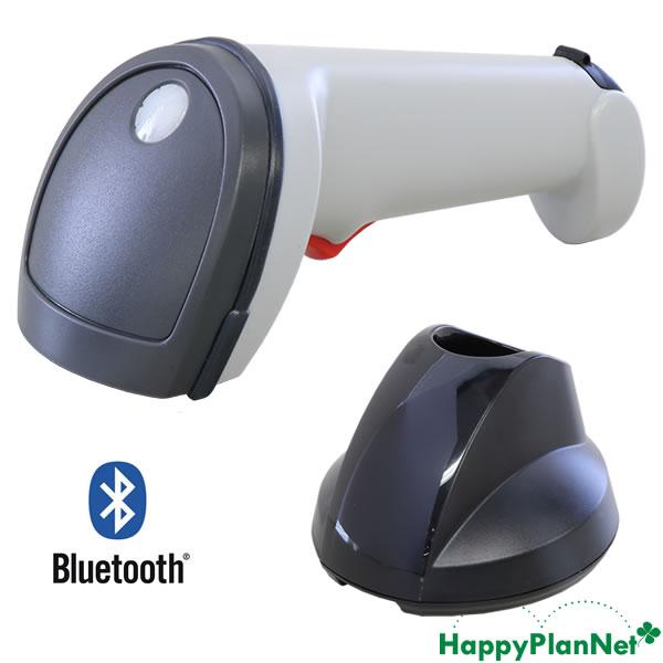 ワイヤレス 2次元バーコードリーダー IG610BT 白 【1年保証】 Bluetooth通信充電クレードル ACアダプター付