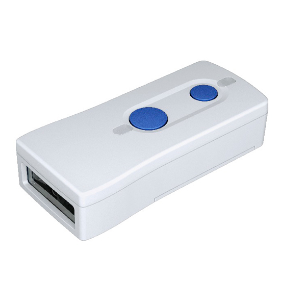 DENSO WAVE デンソーウェーブ 無線二次元コードリーダー 1年保証 Mfi認証 バーコードリーダー 胸ポケットサイズの小型携帯二次元リーダー SF1-QB
