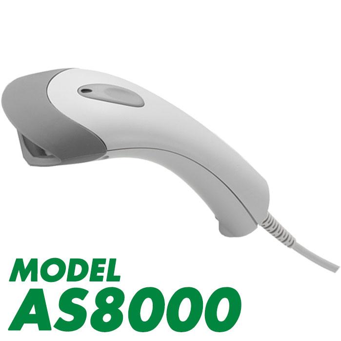 USB接続 バーコードリーダー AS8000 ロングレンジCCD