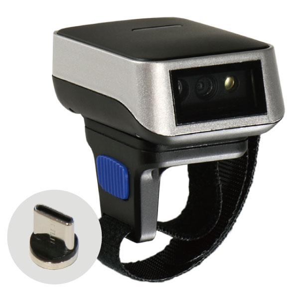 Bluetooth レーザースキャナ マグネットコネクタ付 1年保証 DI9010-1D-L-MAG リングスキャナー USB-HID バーコードリーダー