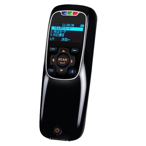 新作販売 小型 軽量 棚卸 倉庫 新品未使用正規品 POSレジ モバイル 無線2Dスキャナー ダークグレー 1年保証 Bluetooth二次元コードリーダー MD302BT-DGY ワイヤレス