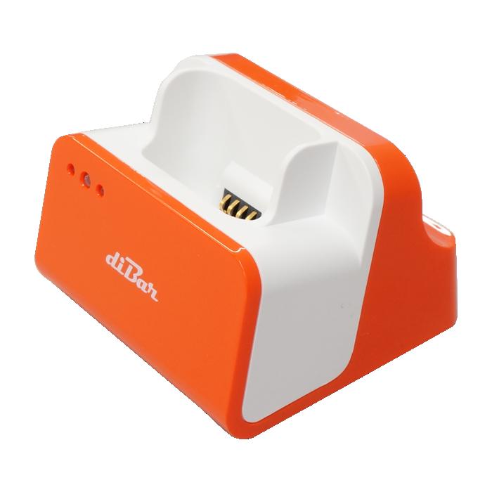 OPN-2002用充電クレードル オレンジ USBハブ機能搭載 ダイバークールクレイドル diBar DB-CLCRD-ORANGE