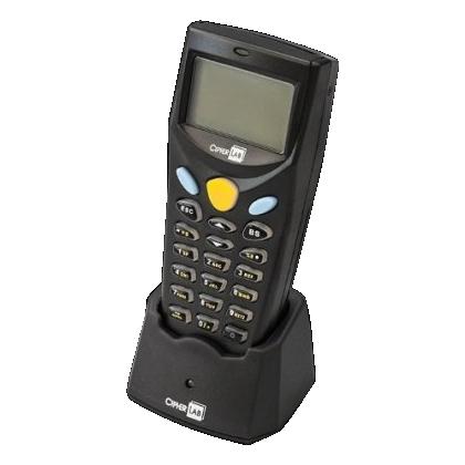 バーコードハンディターミナル MODEL 8000 通信クレードルセット (乾電池式・レーザーモデル) アプリケーション付 8000L-02USB