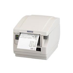高速サーマルプリンター (USB接続) サーマルロール1巻付属 感熱式プリンター POSレジ レシートプリンター<シチズン システムズ>