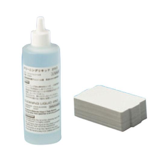 カードリーダー ライター用クリーニングキット(A) PVC厚手カード30枚+250mlクリーニングボトル1本 TCP-CLN-KITA-PVC TCP400用 スター精密