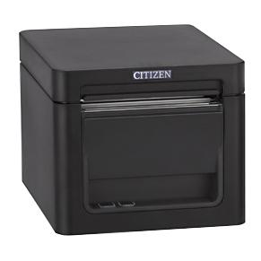 レシートプリンター 用紙幅2インチ(58mm/80mm対応) 【2年保証】 RS232C USB接続 黒 CT-S255RSJ-BK シチズンシステムズ CITIZEN SYSTEMS