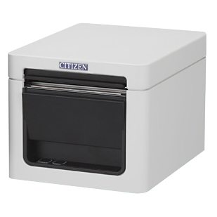 レシートプリンター 用紙幅2インチ(58mm/80mm対応) 【2年保証】 RS232C USB接続 白 CT-S255BTJ-WH シチズンシステムズ CITIZEN SYSTEMS