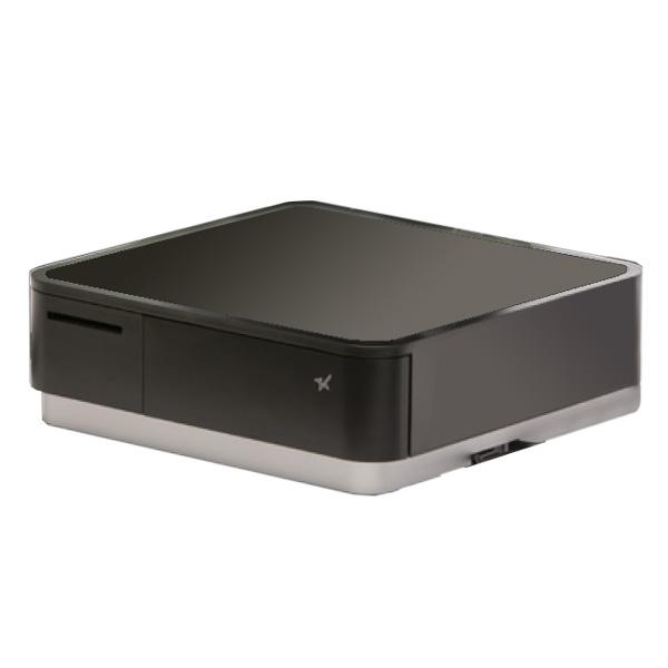 サーマルプリンター(キャッシュドロア内蔵) POP10-BLK-JP Mfi取得 1年保証 スター精密