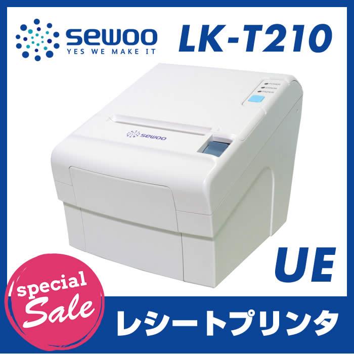 【特価セール】【数量限定】サーマルレシートプリンター LK-T210-UE(USB接続 イーサネット(LAN)接続)上面ペーパー排出 オートカッター ESC/POS互換用紙幅:50mm ~ 82.5mm/180dpi SEWOO