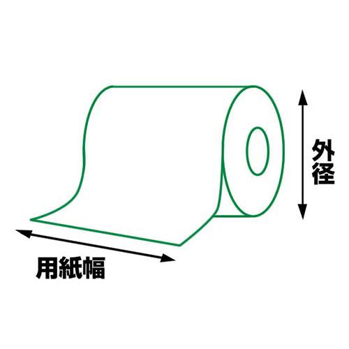 【24巻セット】 感熱ロール紙(用紙幅80mm 外径50mm)CMP-20/30系対応 シチズンシステムズレシートプリンター対応 RP8050T