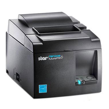 感熱紙レシートプリンター TSP143LAN GRY JP グレー Ethernet接続 サーマルプリンター 1年保証 スター精密