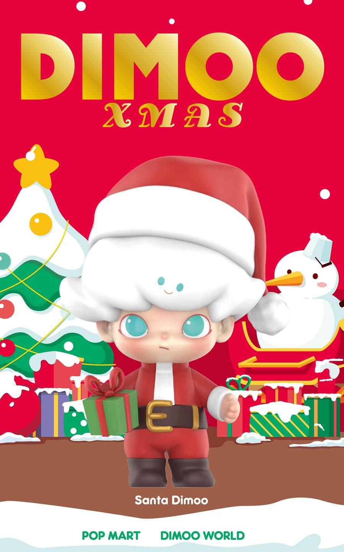 POPMART DIMOO クリスマスシリーズ クリスマス 限定 X'MAS