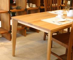 【HUGオリジナル】Forty-Five Dining Table フォーティーファイブダイニングテーブル アッシュ・メープル テーブル ダイニングテーブル 木製 無垢材