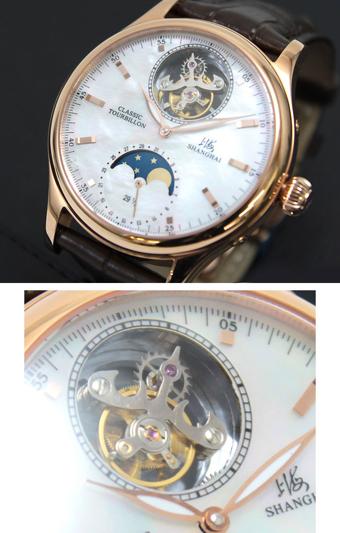 Tourbillon Moonphase lifetime warranty! Flying Super complex and high precision mechanical watches in 1801, the watchmaker Breguet developed