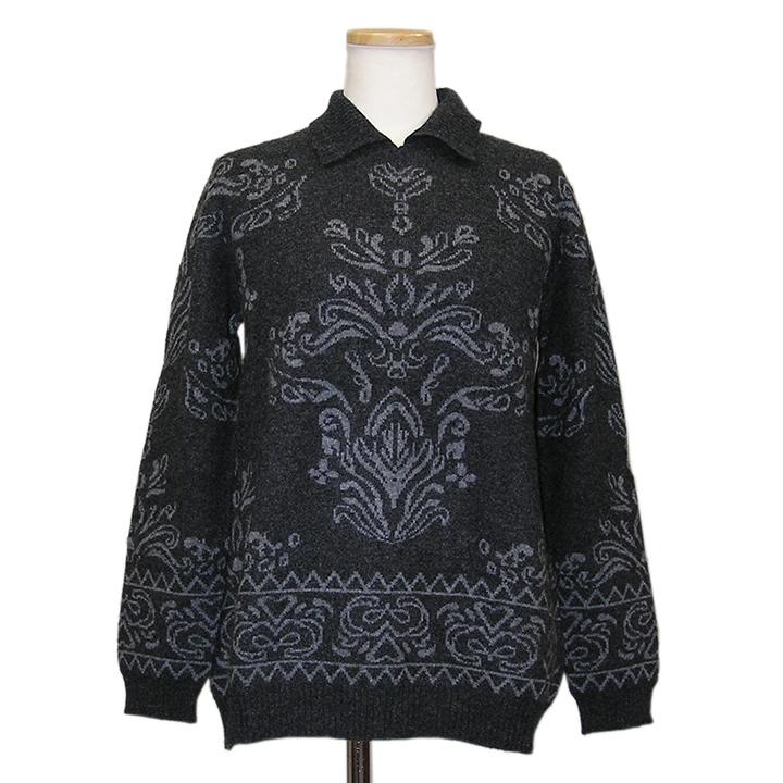 【OUTLET】300-036 カシミヤ カシミヤ100%デザインセーター カシミア カシミヤ100% セーター カシミヤセーター