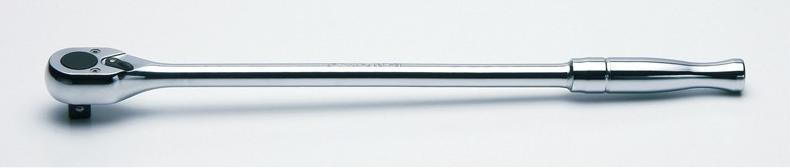 """柯肯 4753 P 410 1 / 2""""平方棘轮处理 (抛光 / 长) 长度: 410 毫米 Koken Koken / 山下大学"""