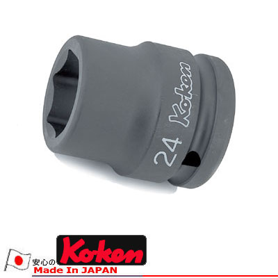 """柯肯 16401 M 40 3 / 4""""平方薄壁影响插座 40 毫米 Koken Koken / 山下大学"""