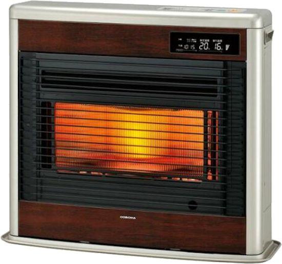 コロナ FF式床暖石油ストーブ(輻射) UH-FSG7018K(MN) [ウッディゴールド] スペースネオ床暖 別置きタンク式