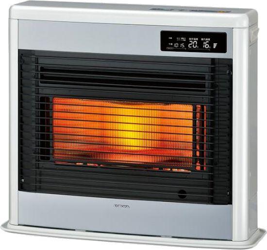 コロナ FF式床暖石油ストーブ(輻射) UH-FSG7017K(W) [ロイヤルホワイト] スペースネオ床暖 別置きタンク式