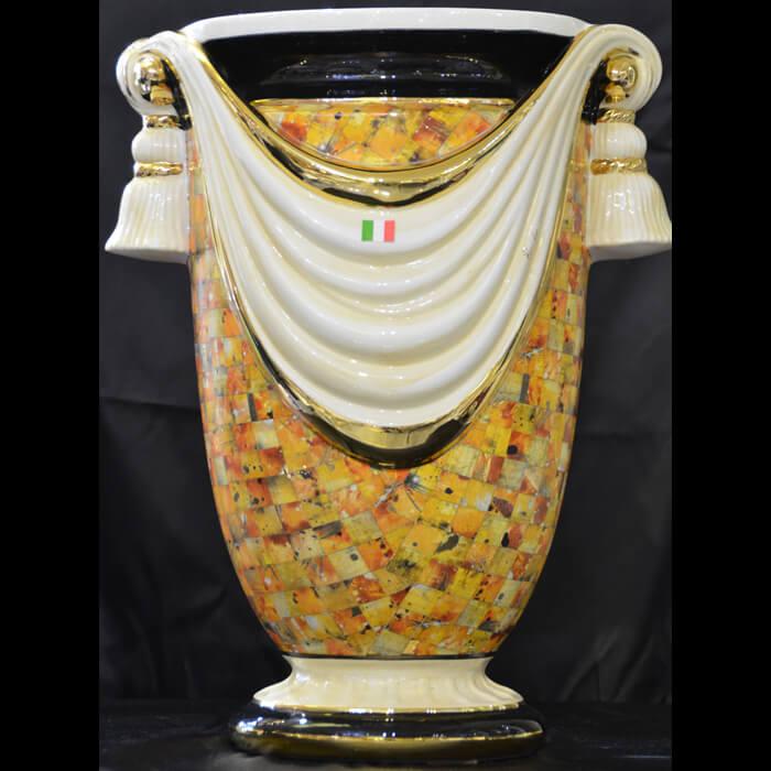 イタリア製/Angela Rigoni/リゴーニ/ドレープ/イタリー製陶器