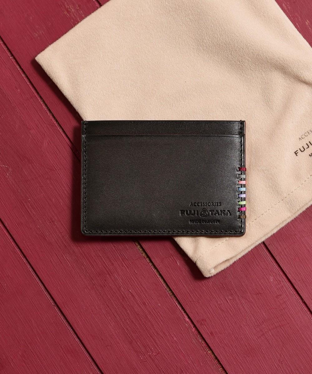 【送料無料】【公式】デュプイ社ボックスカーフ  FUJITAKA ACCESSORIES/フジタカ アクセサリーズ デュプイボックスカーフ パスケース カード カード入れ ミニ財布 プレゼント ギフト 男性 誕生日 薄い スリム