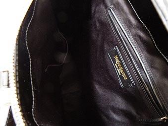 Yves圣罗兰YvesSaintLaurent★包(大手提包)168238 A9Y0G 589黑色×黄金回转锁头浇向,有,有珐琅大手提包肩膀的Rive Gauche Tote非常便宜!女士