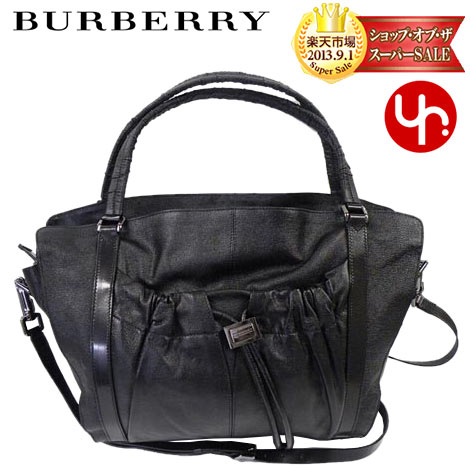 8f1081f4d629 Burberry BURBERRY ☆ bags (tote bag) 3337893 black pocket with Aperture tote  bag shoulder very cheap! Women s brand sale store SALE 2015 YR limited price  ...