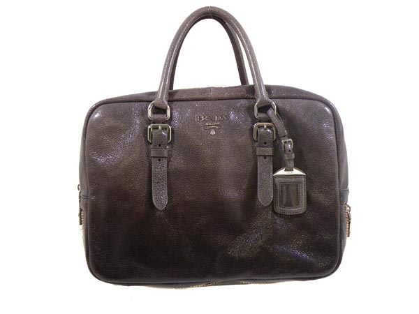 Bl0517 Qmh F0cdc00 Gray Leather Handbags Prada Bags Very Las Commuter For Back 2017