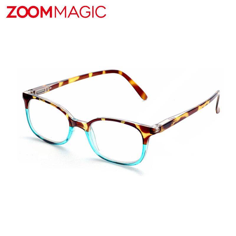 《20%OFF》 ZOOM MAGIC パソコン 眼鏡 贈り物 おしゃれ PC メガネ PCメガネ ブルーライトカット リーディン 男性 ARコーティング ギフト ズームマジック 度なし 低価格化 オーバルWブルー プレゼント 女性