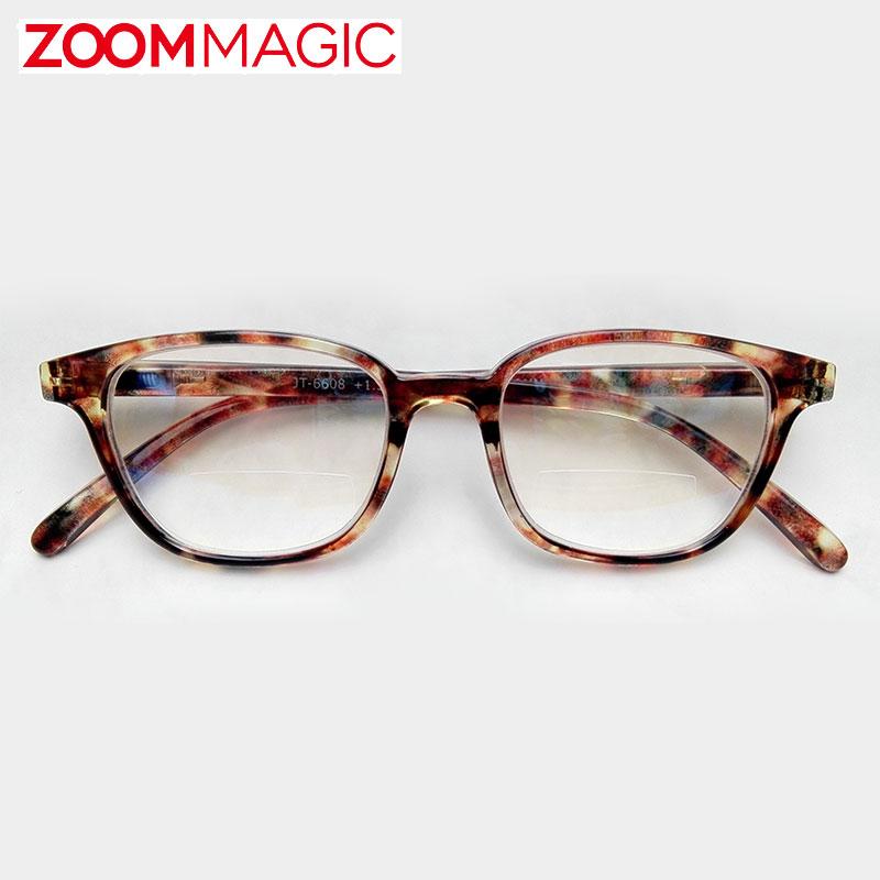 遠近両用 2重焦点レンズは 老眼鏡をいちいち外す手間を省く優れもの 自宅ではテレビを見ながら本や新聞が読めて 外出先でもスマホの文字がよく見えます zoom magic 老眼鏡 サングラス 度数1.5 与え 3.0 シニアグラス おしゃれ リーディンググラス ボストンデミ 国内正規品 女性 2.0 2.5 男性
