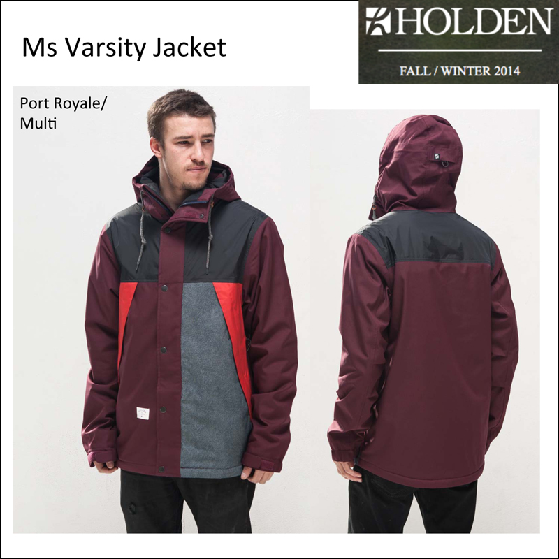 50%OFF HOLDEN ホールデン Varsity Jacket 送料無料 スノーボード ウエア ジャケット メンズ