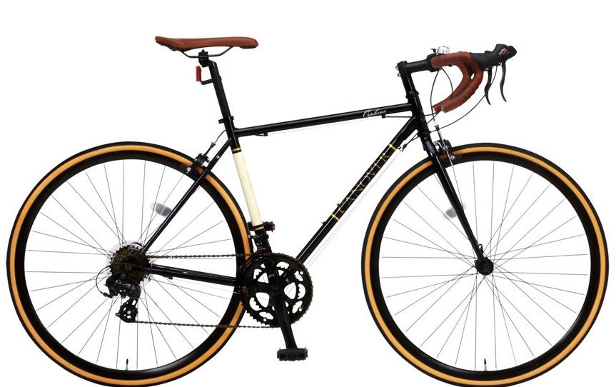 ロードバイク ライト 自転車 700C CANOVER カノーバー CAR-013 ORPHEUS(オルフェウス)LEDフロントライト付 スタンド