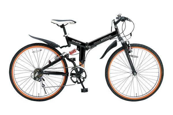 折りたたみ自転車 26インチ マウンテンバイク 自転車 M-670 MTB マイパラス シマノ製6段ギア Wサス