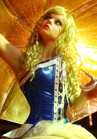 COCO コルセット 【クレメンタイン リトル ドール】 フランスのフェティッシュ系ファッション「パトリス・カタンザロ」