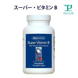 [アレルギー対応済]スーパー·ビタミンB サプリメント サプリ 植物由来 無添加 60日分x2本【ビタミンB群/ビタミンb/bコンプレックス/B複合体/高吸収/グルテンフリー/Super Vitamin B】