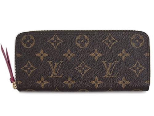 【新品】【ルイヴィトン モノグラム ポルトフォイユ・クレマンス】 LOUIS VUITTON 長財布 M60742【送料無料】【Luxury Brand Selection】