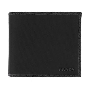 プラダ PRADA 2MO738 TESS/NER 二つ折り財布