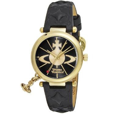 『特別企画14日朝マデMAX500円OFFクーポンあり+point10倍』Vivienne Westwood ヴィヴィアン・ウエストウッド オーブ VV006BKGD 時計
