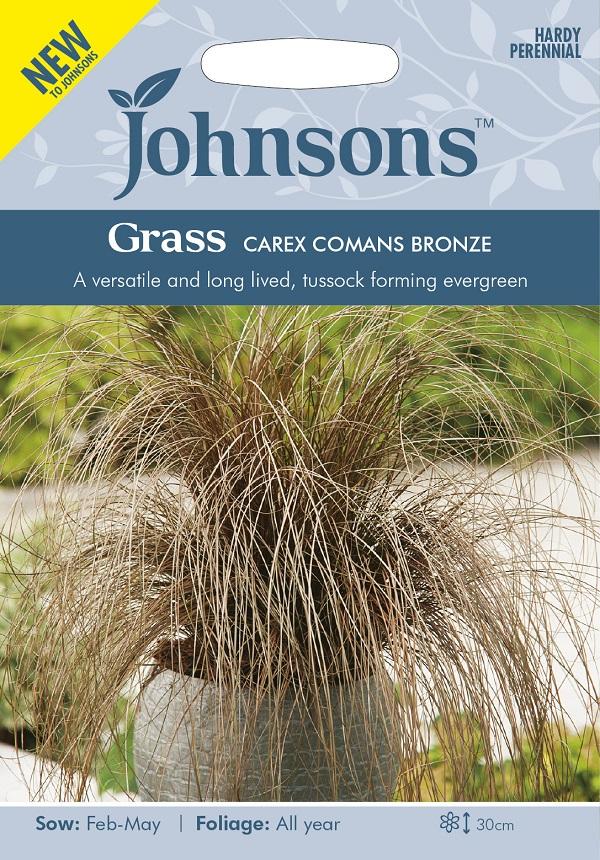 用途が広く 長寿命 輸入種子 Johnsons Seeds Grass 新品未使用正規品 CAREX 今ダケ送料無料 コマンス カレックス ジョンソンズシード BRONZE ブロンズ グラス COMANS