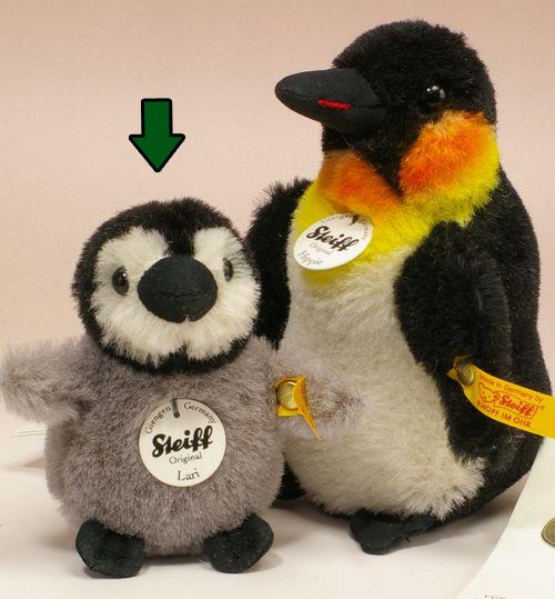シュタイフ テディベア Steiff アルパカ ラリベビーペンギン 9cm ぬいぐるみ 誕生日 プレゼント 内祝い ギフト クリスマス