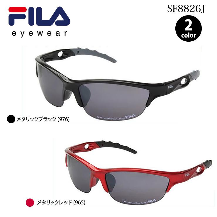 b1d2ee694469 Sports sunglasses FILA Fila SF8826J UV cut mirror lens sneakers parka  baseball bicycle golf outdoor men ...