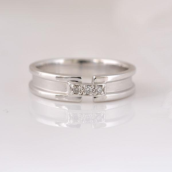 ピンキーリング ダイヤモンド ホワイトゴールド 小指指輪[送料無料] [ 誕生日 プレゼント ギフト ジュエリー アクセサリー ]