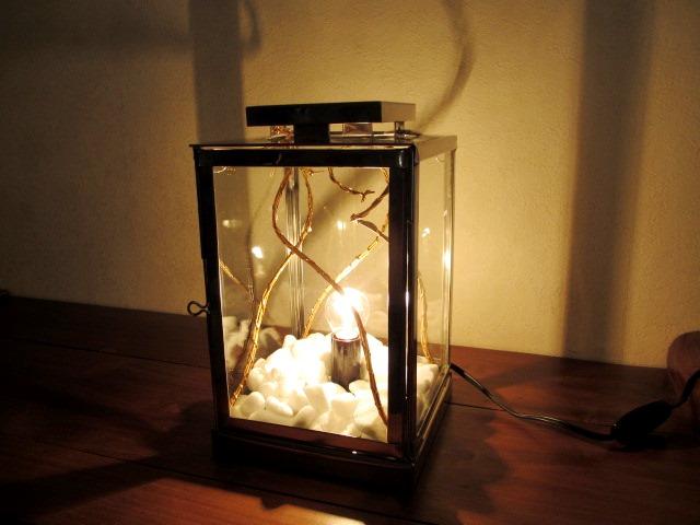 照明 おしゃれ スタンド モダン アート スタンドライト スチール トウメイガラス テーブルライト オブジェ デザイン照明 装飾 インテリアライト スタンドランプ*スタンド照明 モロッコXX